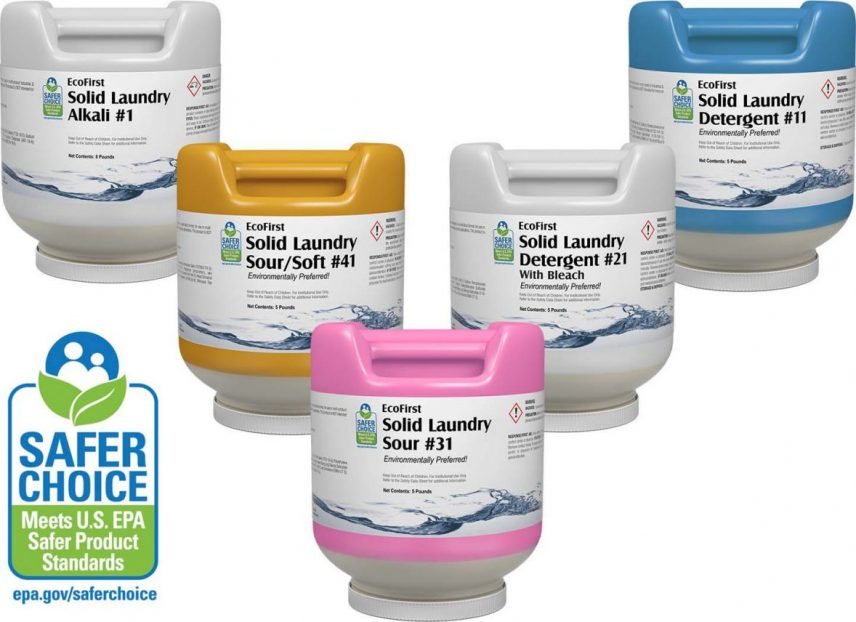 New Safer Choice Solid Laundry Products